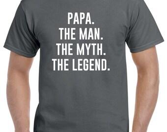 Papa Christmas Gift-Funny Papa Shirt