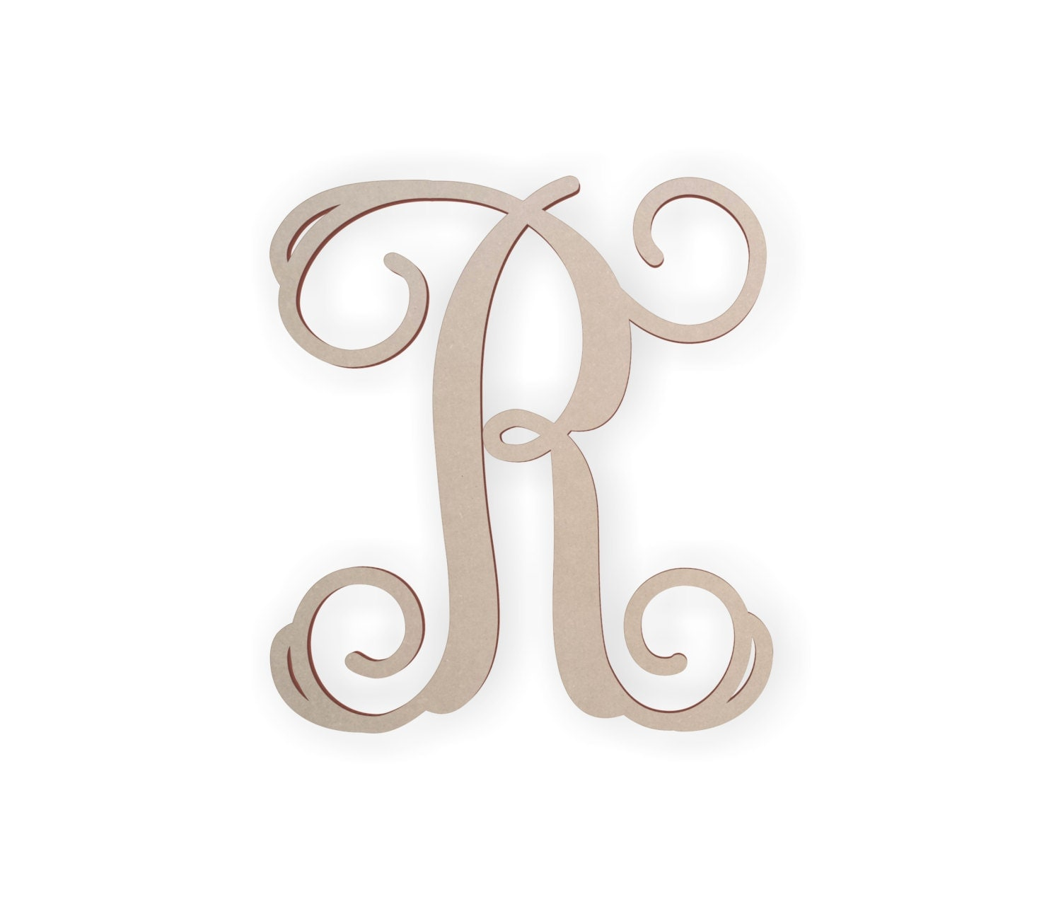 wooden wall letters wooden letters for wall script letter for door cursive 25680 | il fullxfull.978144126 jy6i