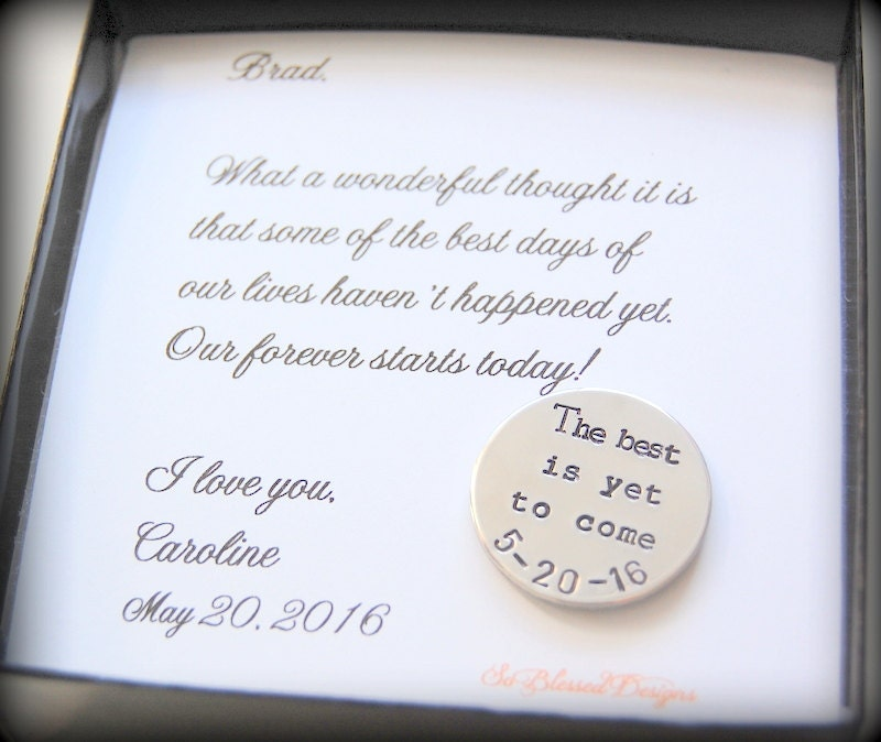 Groom Gift From Bride For Groom From Bride Wedding Day Gift