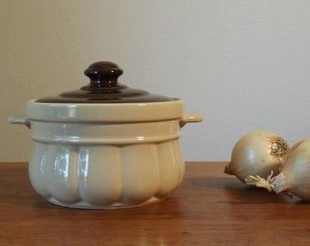 Covered Casserole  with Tab Handles ~ Stoneware ~ Pantry Bake and Serve