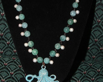Octopus Beaded Necklace