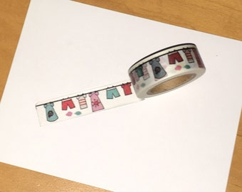 Clothes Line Washi Tape WT1009CL