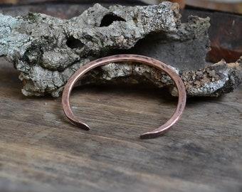 men's copper bracelet, simple copper bracelet, mens copper bracelet, unisex copper bracelet, man copper bracelet, womens copper bracelet