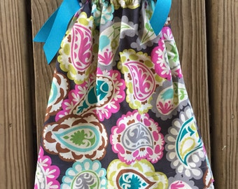 Paisley Pillowcase Dress