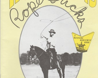 Vintage Will Rogers Rope Tricks Softcover Book 1969
