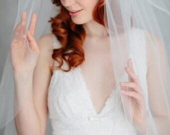 Wedding silk flower headband, silk organza headband-Marla