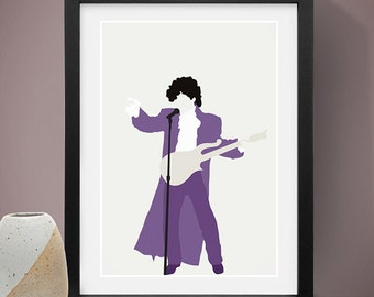 Prince Poster, Music Poster, People, Art Print