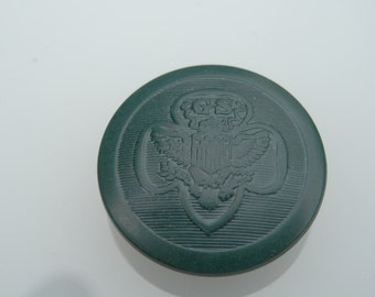 LG Vintage Girl Scout Button