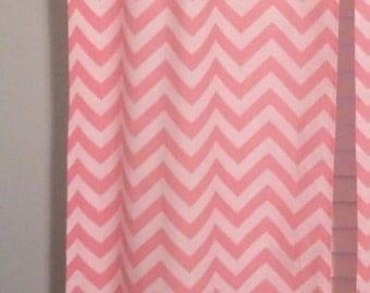 Custom Chevron Curtain Panels