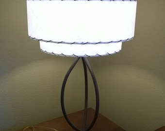 diy kit vintage mid century style 3 tier fiberglass lamp shade kit