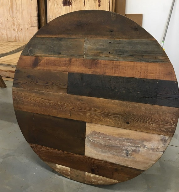 round dining table 60 inch diameter table top wood variety reclaimed