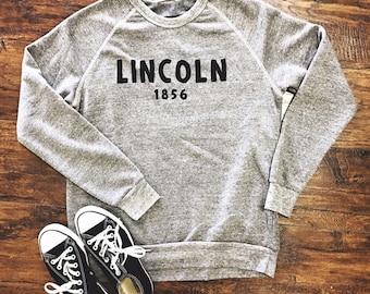 Lincoln 1856 Classic Champ Eco-Fleece Crewneck Sweatshirt