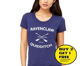 Ravenclaw Quidditch Women and Men Unisex Clothing T-shirt tank top size s m l xl