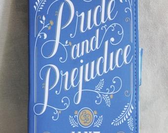 Jane Austen Pride & Prejudice Book Cover Phone Wallet