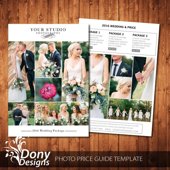 wedding photography pricing guide pdf