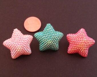 Shiny Mermaid Star Earrings
