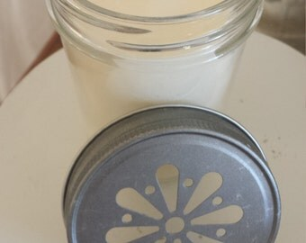 SALE !  Strawberry Shortcake Soy Candle/Natural Soy Candle /Scented Candle /Strawberry