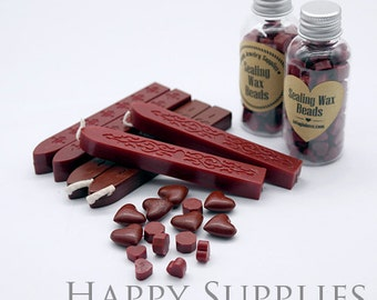 Burgundy / Deep Red / Red Sealing Wax for Wax Seal Stamp Set