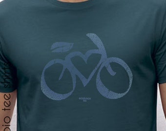 LOVE VELO  organic cotton tee shirt