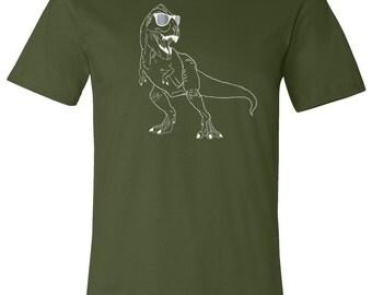 Tyrannosaurus Rex T Shirt, Dinosaur, T Rex, Dino Shirt