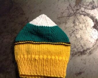 Green Bay Colors newborn hat