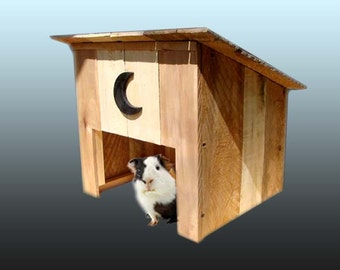 Outhouse Small Animal House, Cat, Rabbit, Hampster or Guinea Pig House, or Litter Box Cover