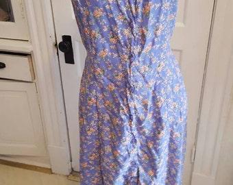 90's floral maxi sun dress (medium) Summer Dress