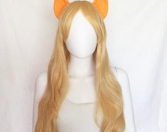Applejack Costume with ears and wig, Applejack cosplay, Applejack costume AJ