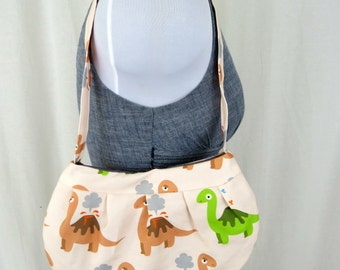 Small Dinosaur Volcano Purse