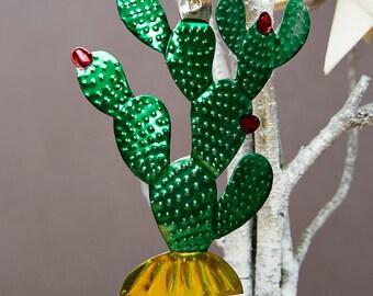 Cactus Mexican Tin Decorations