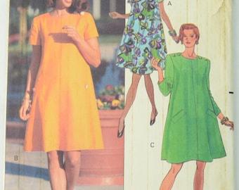 Butterick 5351 Pattern Misses' Dress, Sewing Pattern, Size 14 - 16 - 18, UNCUT