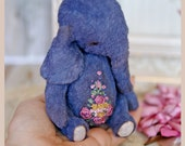 RESERVED-Elephant-Teddy Elephant- Teddy Bear Friend-Artist Elephant