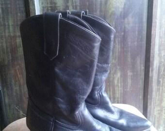 Vintage Oak Tree Farms Western Cowgirl Boots