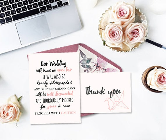 Crane Invitation Wedding Suite Wedding Printable Custom DIY