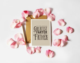 Last Minute Funny Father's Day Card (Printable)