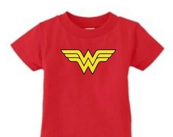 Infant T-Shirt Wonder Woman Symbol