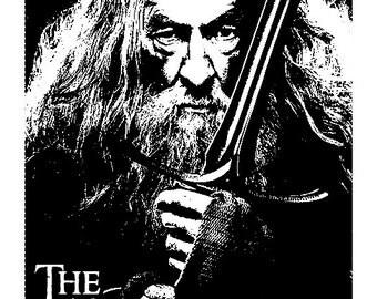 The Hobbit Engraving