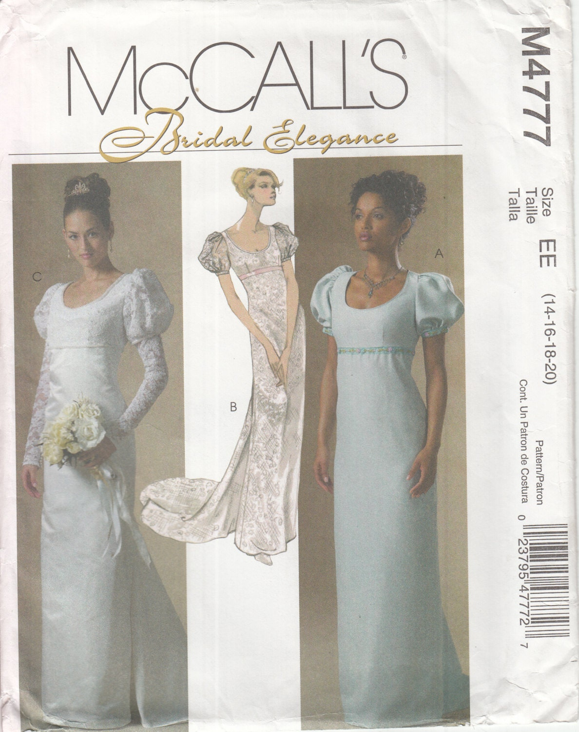 McCall's Long Sleeve Mother of the Bride Dresses