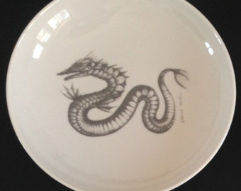 "Porcelain serving bowl, 21 cm, ""Leviathan"""
