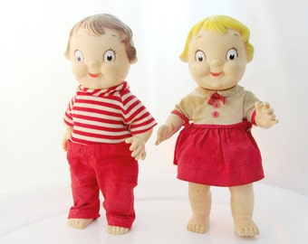 Campbell Soup Kids Rubber Dolls Vintage Advertising Collectible Gift Item 2240