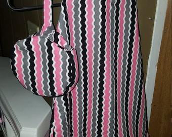 Girls Halter Dress with matching wristlet purse