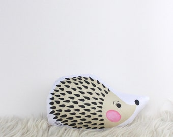 "Hedgehog Plush Animal Toy, 6"""