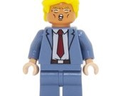 Donald Trump - miniBIGS Custom Figure made from Genuine LEGO Minifigure Elements