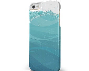 Abstract WaterWaves - iNK-Fuzed Hard Case for the Apple iPhone - Samsung Galaxy & More