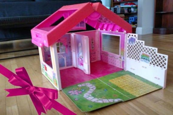 Barbie Fold 'N' Play Doll House Vintage 1992 Barbie By