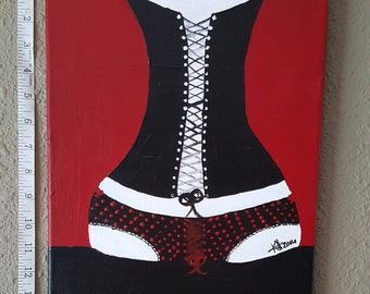 Sensual Pop Art, Abstract Painting