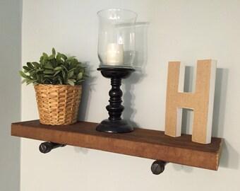 Reclaimed Cedar Shelf