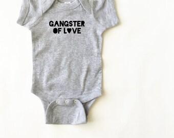 Baby gangster onesie