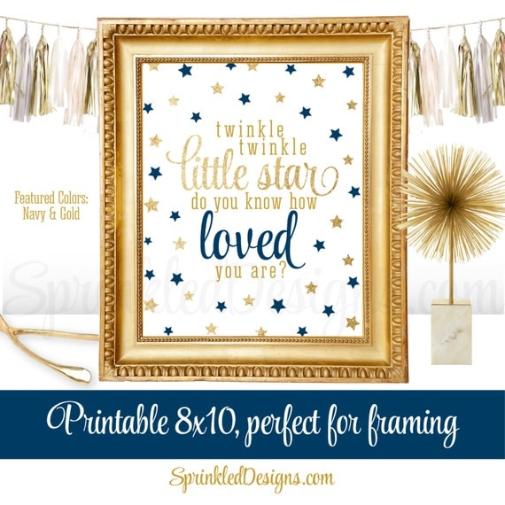 Twinkle little star do you know how loved you are printable - Take chance black themed bathroom ...