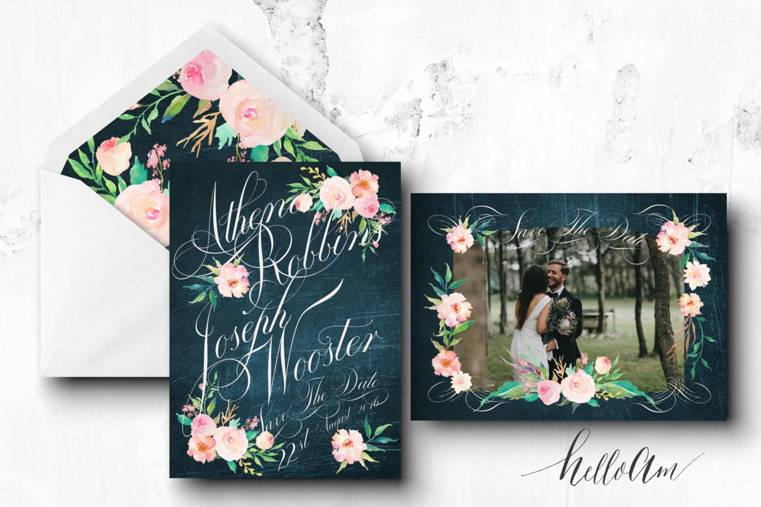 PRINTABLE Save the Date Postcard - rustic wedding - engagement cards - save the date postcard - save the date rustic - cheap save the date